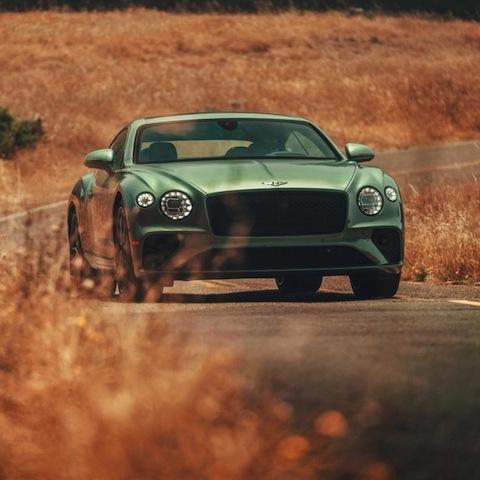 green Bentley Continental GT - Grandeur! nigeriantech.com.ng