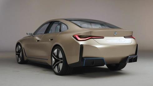 BMW Concept i4 (Ultra Grille) bmw nigeriantech.com.ng