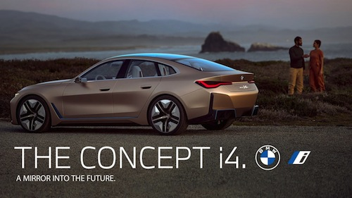 BMW Concept i4 (Ultra Grille) nigeriantech.com.ng