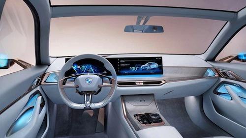 interior BMW Concept i4 (Ultra Grille) nigeriantech.com.ng