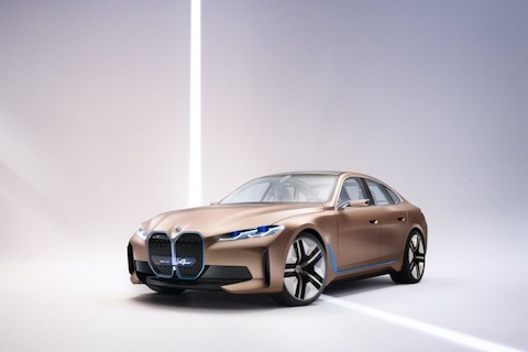 slush BMW Concept i4 (Ultra Grille) nigeriantech.com.ng