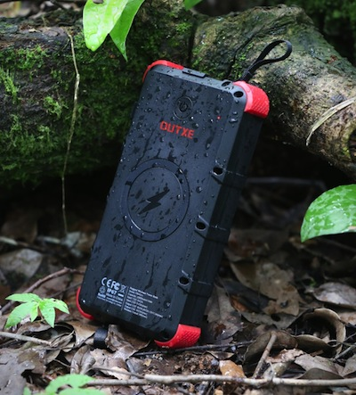 OUTXE W20 Waterproof Wireless Solar Power Bank nigeriantech.com.ng