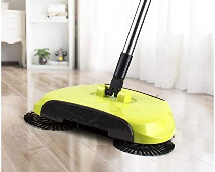 Automatic Hand Push 360 Rotating Sweeper Review in Nigeria