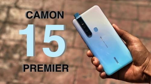 Tecno Camon 15 Premier Full Specification & Price in Nigeria