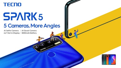 Tecno Spark 5 TaK Review, Specification & Price in Nigeria Nigeriantech.com.ng