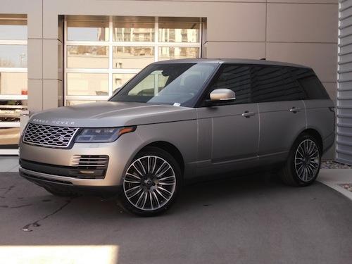 Price of Range Rover Sport in Nigeria