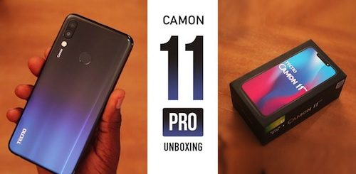 Tecno Camon 11 Pro Specifications & Price in Nigeria Nigeriantech.com.ng