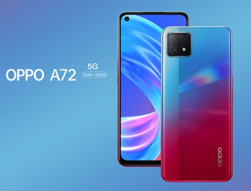 Oppo A72 5G Specifications & Price in Nigeria tech Nigeriantech.com.ng