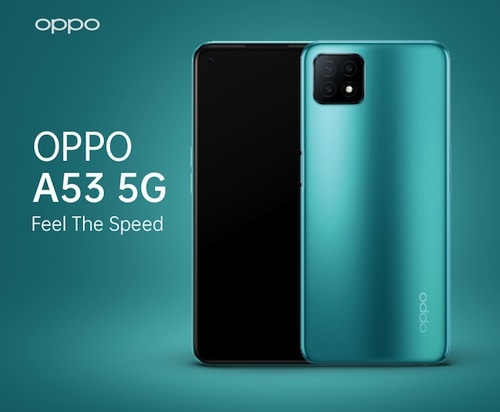 Oppo A53 5G Specifications & Price in Nigeria nigeriantech.com.ng