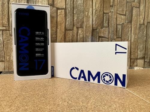 Tecno Camon 17p Specifications & Price in Nigeria 17p nigeriantech.com.ng