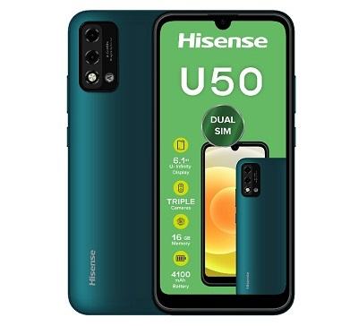 Hisense U50 Specifications & Price in Nigeria nth Nigeriantech.com.ng